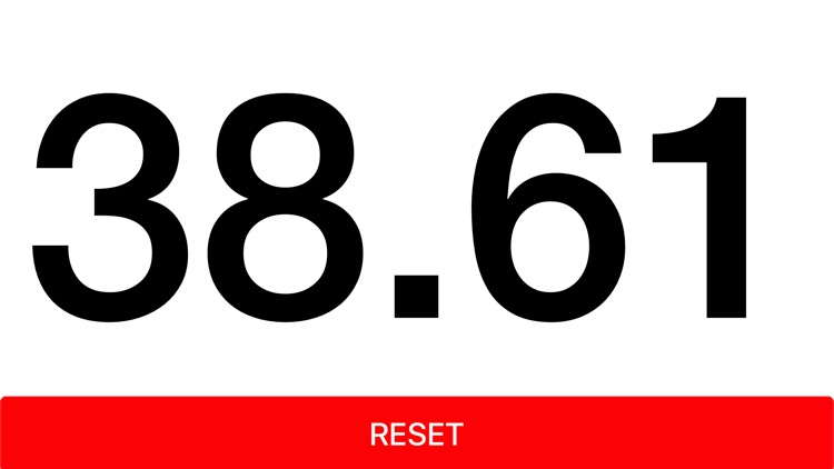 Herotime Zero: Timer Stopwatch Simply Big screenshot-4