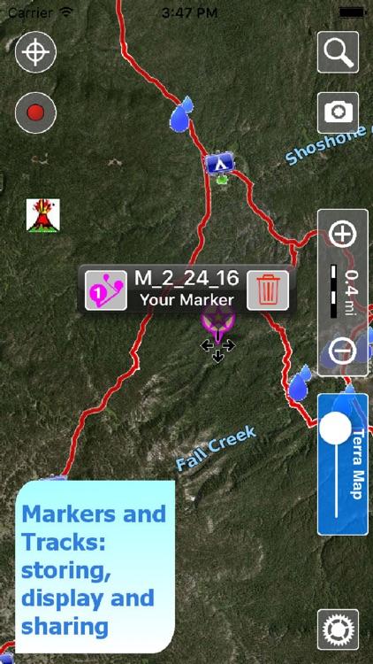 Terra Map Pro - GPS Hiking topo maps | HD screenshot-3