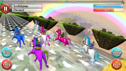Ultimate Unicorn Dash 3D screenshot four