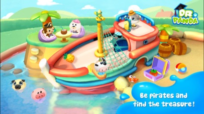 Screenshot for Dr. Panda Swimming Pool in United States App Store