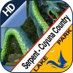 Serpent Lake & Cuyuna offline lake and park trails