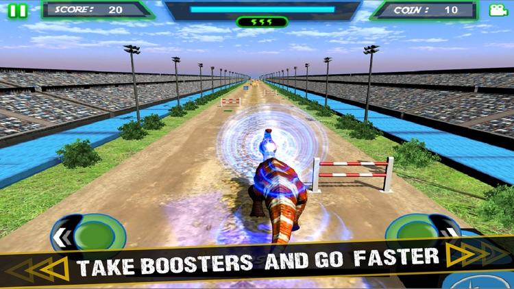 Jurassic Dinosaur - Racing Simulator Game