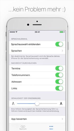 Textify - Lesen statt Hören! Screenshot