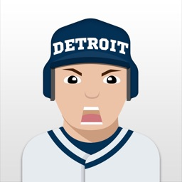 Detroit Baseball Stickers & Emojis