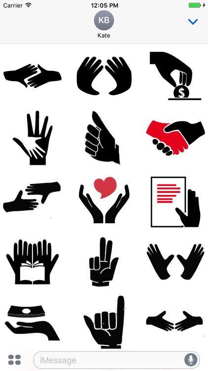 HandShake Stickers Pack
