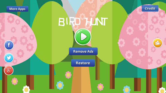 Bird Hunt Game, game for IOS