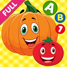 Smart Baby! Food ABC Learning Kids Games for girls