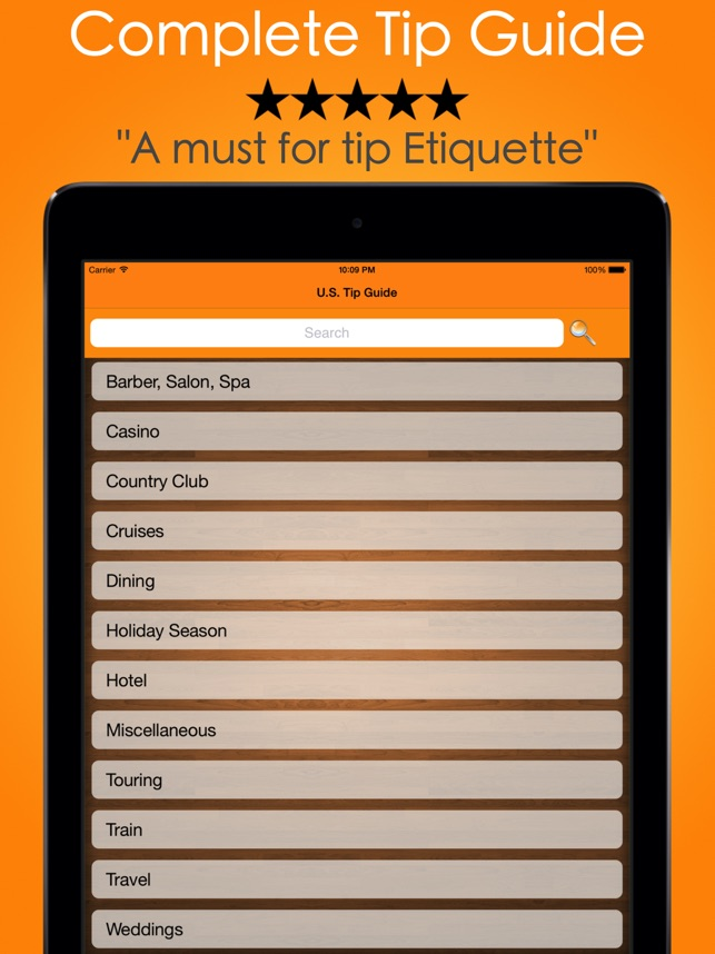 tip calculator tipping guide on the app store - How Much To Tip Hairdresser At Christmas