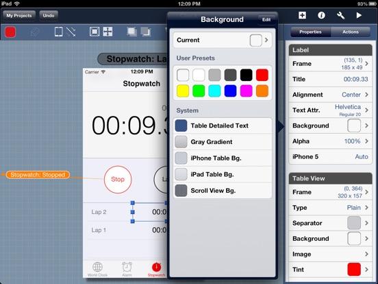 t l charger blueprint app mockup pour ipad sur l 39 app store productivit. Black Bedroom Furniture Sets. Home Design Ideas