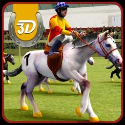 Wild Horse Racing 3D Simulator- Virtual Derby Race