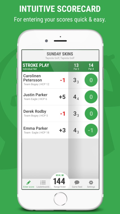 GameBook - Live scoring golf app with GPS