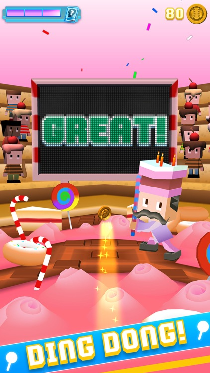 Blocky Baseball - Endless Arcade Batting screenshot-3