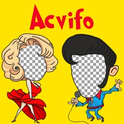 Acvifo Hole to Put Face in : Change Voice & Face