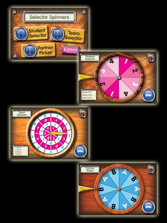 Selector Spinners Screenshot 0