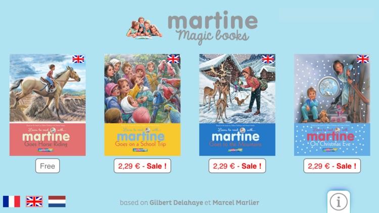 Martine : Magic books