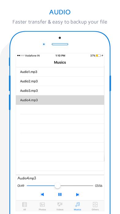 Easy Transfer - File Transfer from/to PC thru WiFi screenshot three