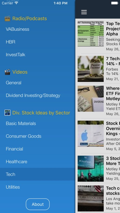 Dividend Stocks Ideas for High Yield Investing screenshot-3