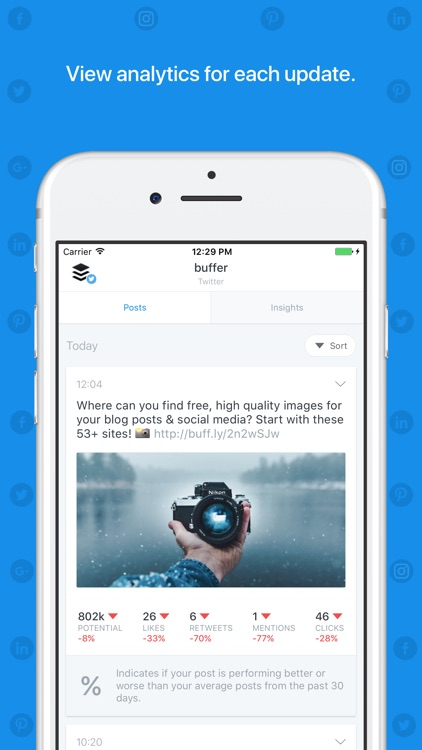 Buffer: Scheduling for Twitter, Instagram & More