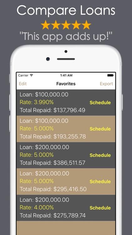 Loan Calculator - Mortgage Car