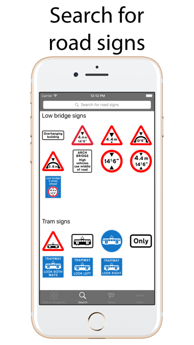 Road Signs Quiz Lite screenshot two