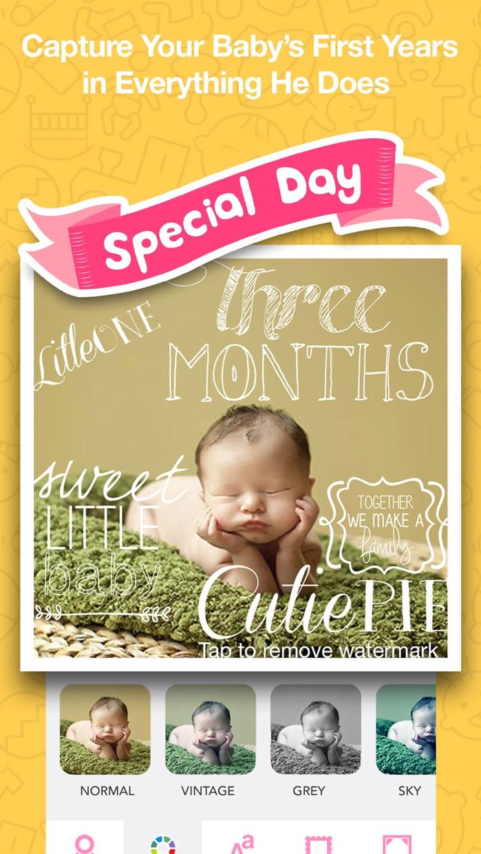 Baby Photo- Pregnancy Baby Pics & Baby Milestones Screenshot