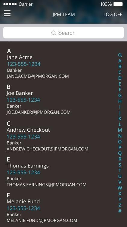 J.P. Morgan Mobile® screenshot-4