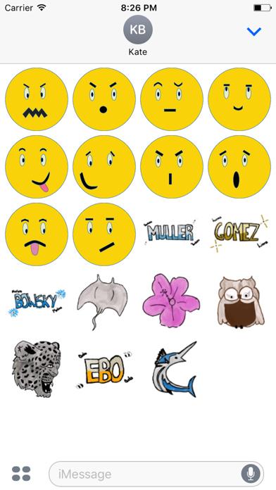 YEMBE Emojis screenshot one