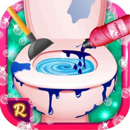 Epic Toilet Cleaner: Wash the bathroom seat