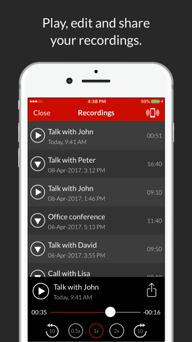 Call Recorder : Record Phone Calls screenshot four