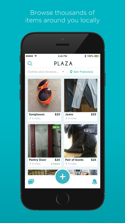 Plaza - Buy and Sell Locally