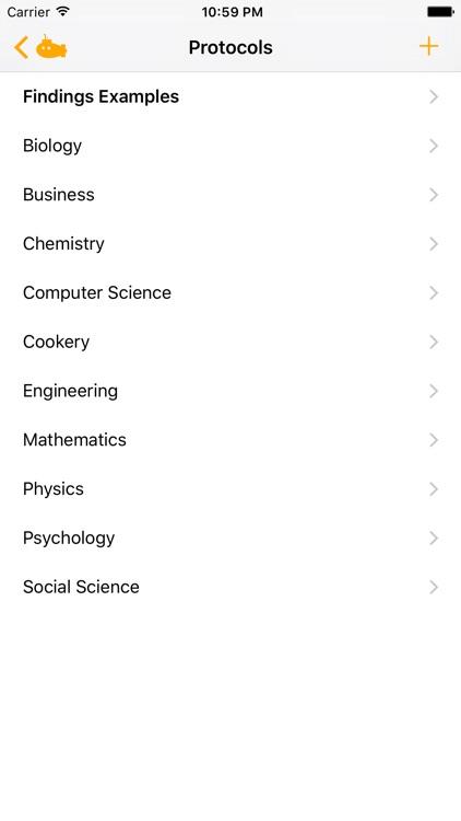 Findings - Lab Notebook screenshot-3