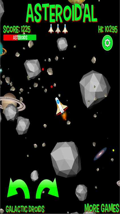 Asteroidal screenshot-1