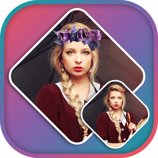 Flower Crown Photo Editor - Flower Crown Stickers