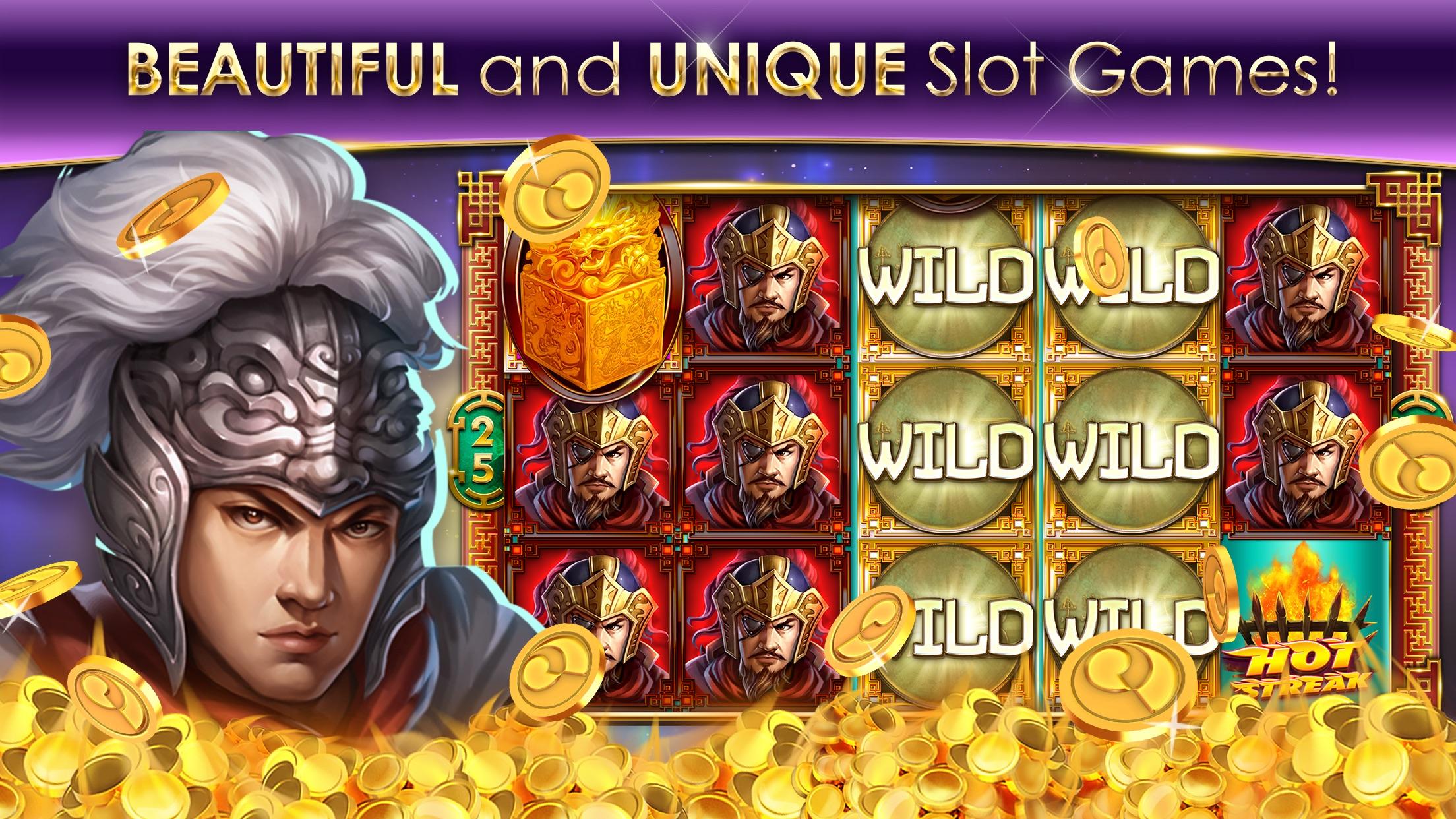 Hot Streak Slots Casino Game Screenshot