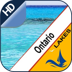 Ontario Lake GPS offline nautical fishing charts