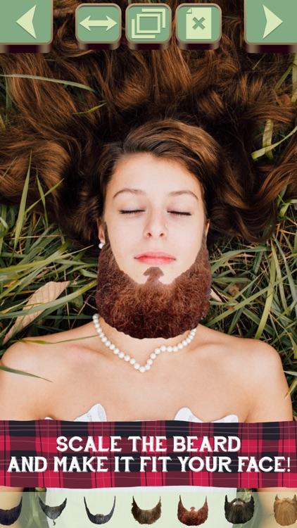 Cool Beard Styles: Add Beards Stickers to Photos screenshot-3