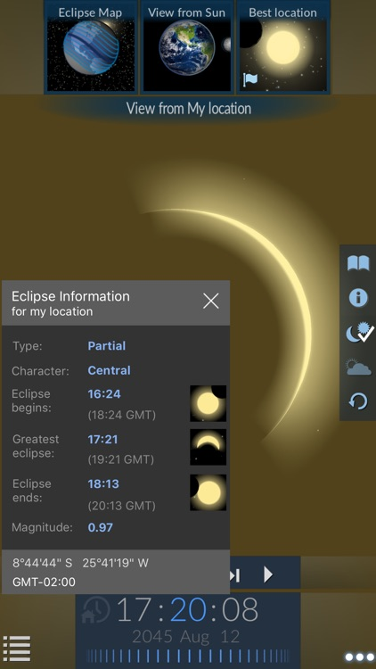 Solar Eclipse by Redshift screenshot-3