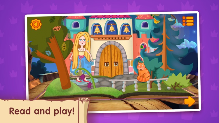 The Princess and the Pea ~ Fairy Tale for Kids screenshot-1