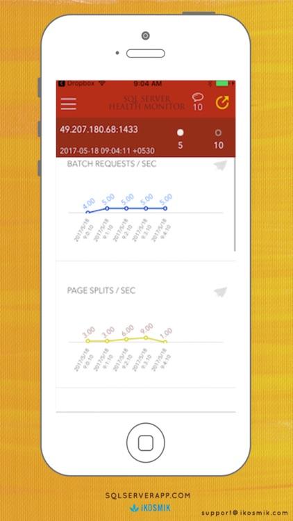 DBA Mobile DB Client for Microsoft SQL Server Pro screenshot-3