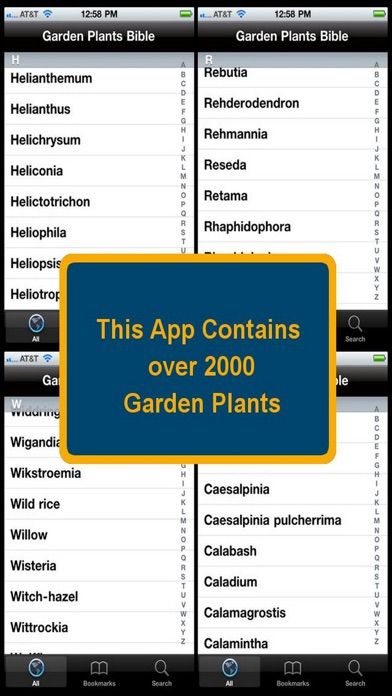 Garden Plants Bible review screenshots
