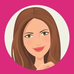 T'elle-Kate: Chic stickers for women & girl talk