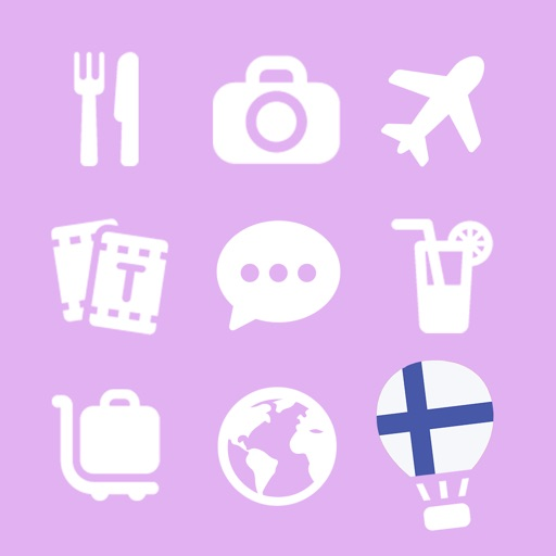 LETS Travel Finland! Finnish Phrase Guide Book