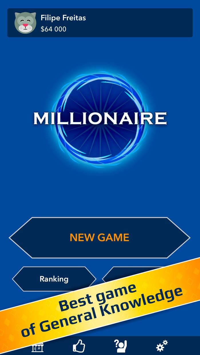 Millionaire Quiz! Screenshot