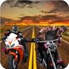 リアル・トラフィック・バイク攻撃:ロード・ラッシュ・デス・レース