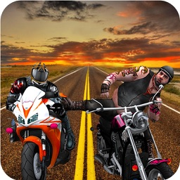 Real Traffic Bike Attack:Road Rush Death Race