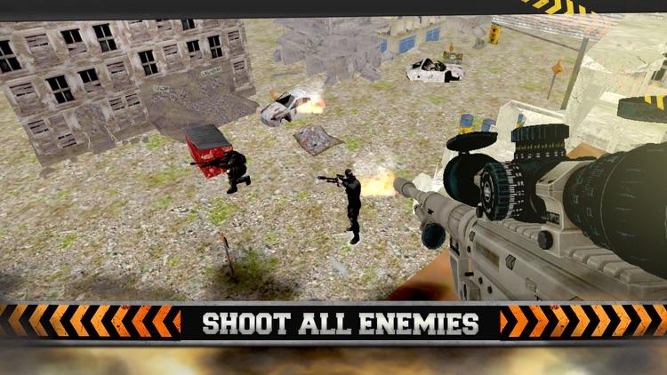 Army Sniper Elite Force - Commando Assassin War screenshot-4
