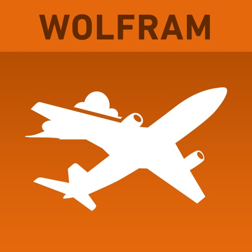 Wolfram Flight Information Reference App icon