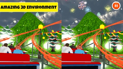VR Roller Coaster: Real Ride Experience screenshot two