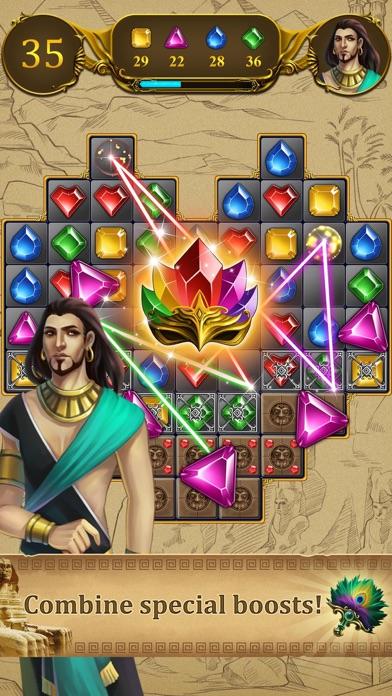 Jewel Swap -Magic match 3 game screenshot one