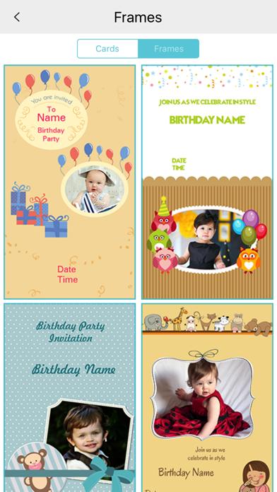 Custom Birthday Invitation Card maker screenshot four